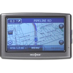 "Insignia 4.3"" Touchscreen GPS Navigation"