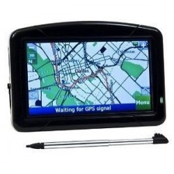"Omnitech 4.3"" Portable GPS Navigation System"