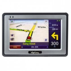RightWay 4.3-Inch Portable GPS Navigator