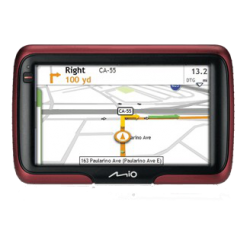 "Mio Moov S401 4.3"" GPS Navigation System"