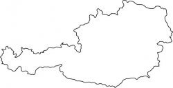 Austria Map Outline
