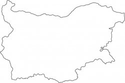 Bulgaria Map Outline