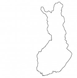 Finland Map Outline