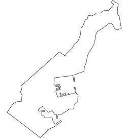 Monaco Map Outline