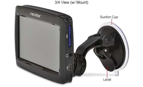 Nextar Q4 4.3-Inch Widescreen Portable GPS Navigator