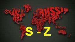 List of countries from S to Z image