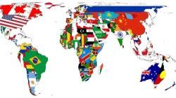 All flags of the countries of the world image